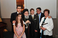 Archbishop with Oratorical Winners